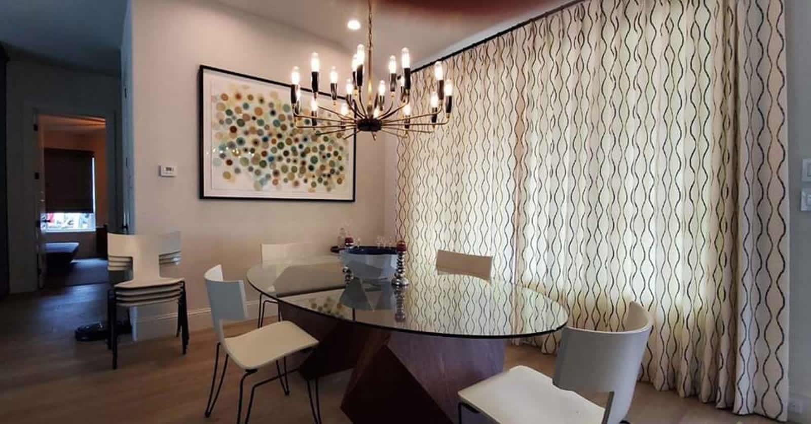 Modern Drapes for Interior Design Decatur TX